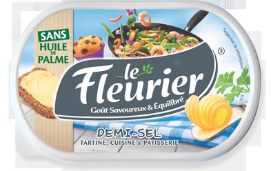 LE FLEURIER® SANS HUILE DE PALME DEMI-SEL